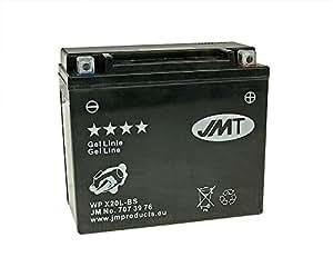 Jmt - 12 Volt Batería Gel Jmt - Ytx20L-Bs