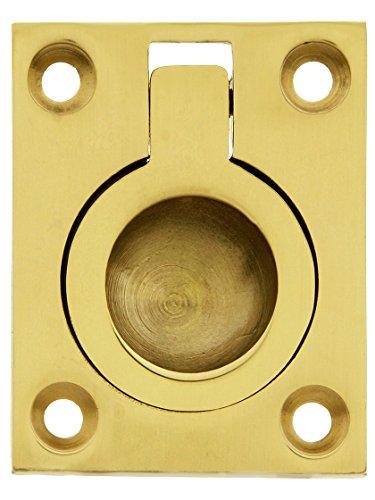 Solid Brass Floor Mount - 4