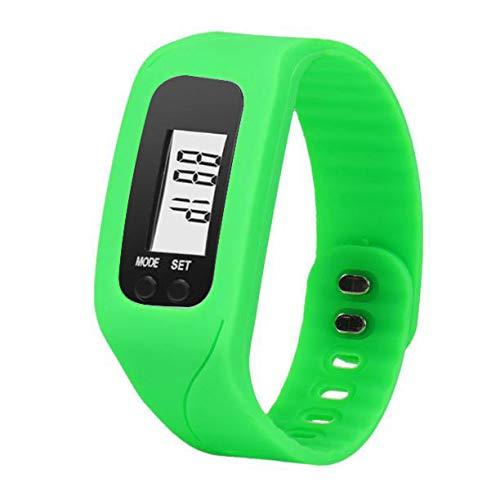 Moda Reloj Unisex Reloj Inteligente LED Digital con Banda de Silicona Smartwatch Deportivo Correa de Silicona Relojes de Pulsera Watch vpass: Amazon.es: ...