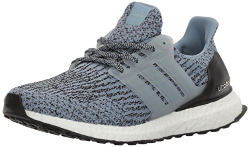 adidas Women's Ultraboost W Running Shoe Tactile Blue/Tactile Blue/Black