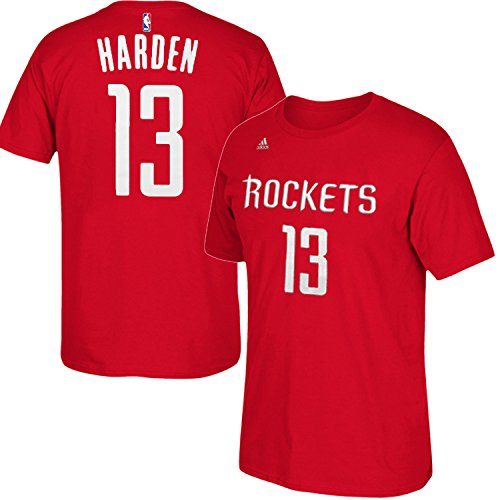NBA Youth 8-20 Performance Game Time Team Color Player Name and Number Jersey T-Shirt (Medium 10/12, James - Harden James Fashion