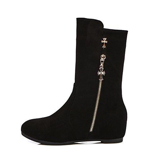 AdeeSu AdeeSu Zapatillas altas Negro Zapatillas mujer gr5g4qCw6