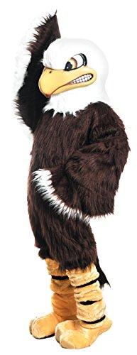 Bald Eagle Mascot Costume Brown]()