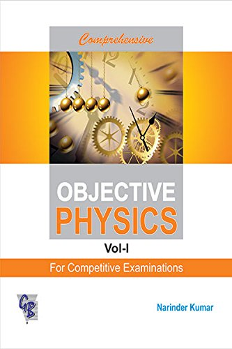 Comprehensive Objective Physics Vol. IFor Competitive for sale  Delivered anywhere in USA