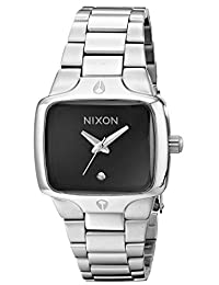 Nixon Women's NXA300000 Stainless Steel Ladies Black Dial Watch