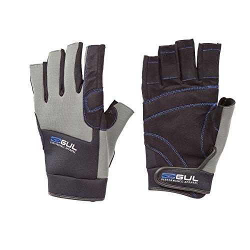 Gul Winter SHORT Finger Gloves Black/Charcoal GL1242