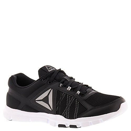 Reebok Heren Yourflex Train 9.0 Mt Hardloopschoen Zwart / Skull Grey / White / Pewter / Grey
