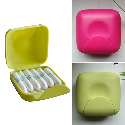 YOTHG Travel Outdoor Portable Women Tampons Storage Box Holder Color Random by YOTHG (Image #3)