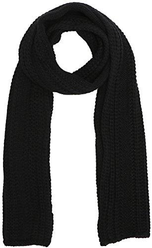 Handmade Knit - Soft Handmade Knit Winter Long Scarf Neck Warmer for Men,Black