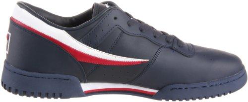 Fila Uomo Originale Fitness Lea Classic Sneaker Blu / Bianco / Rosso