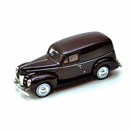 1940 Ford Sedan Delivery, Burgundy - Showcasts 73250 - 1/24 Scale Diecast Model Car, but NO Box