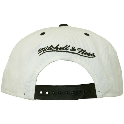 Ness Gorra única de hombre para Mitchell talla blanco regulable amp; béisbol Blanco 65qwwSn