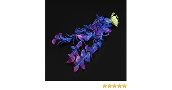 Planta Artificial Plástico Decoración para Acuario Pecera Color Azul: Amazon.es: Bricolaje y herramientas