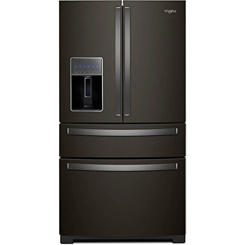 Whirlpool WRX986SIHV 26 Cu. Ft. Black Stainless 4 Door Frenc
