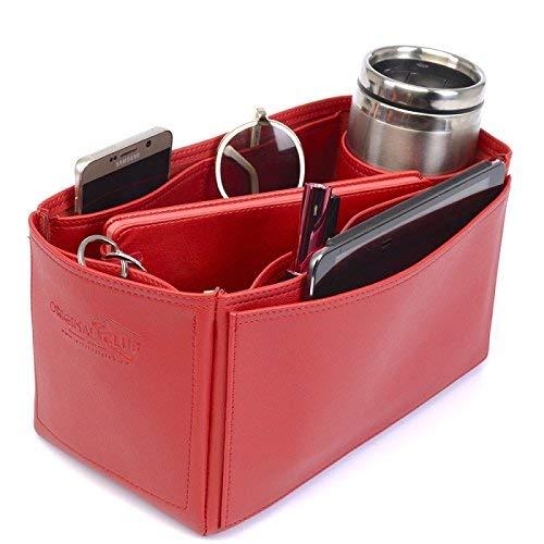 9a049bbf7233 Garden Party 30 Deluxe Leather Handbag Organizer