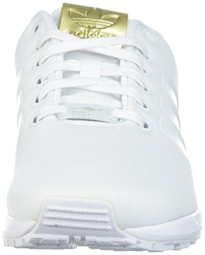 Adidas Originals Kvinders Zx Flux W Løbesko Hvid / Hvid / Metallisk Guld 2FAbiPK3Xq