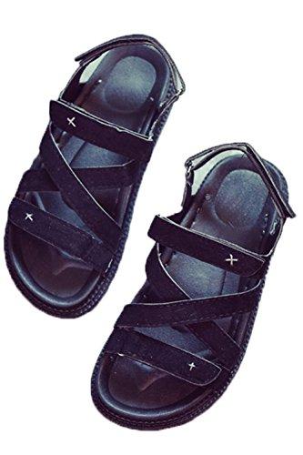 YINUO レディース ビーチサンダル 美脚 シンプル カジュアル フラットシューズ サンダル おしゃれ 通勤 通学