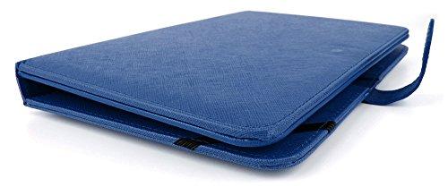duragadget etui aspect cuir bleu clavier int gr azerty. Black Bedroom Furniture Sets. Home Design Ideas