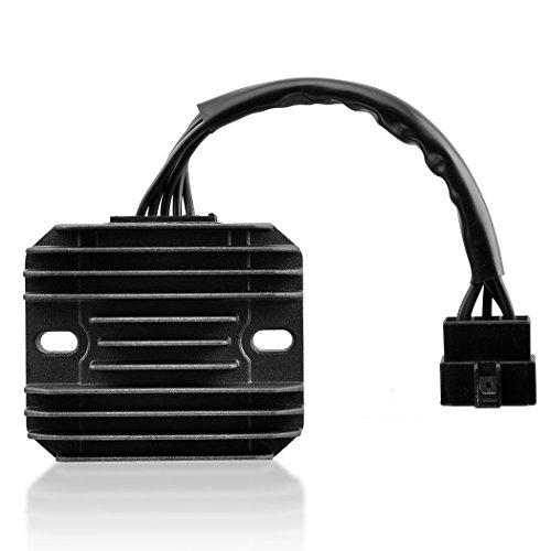 MZS Voltage Regulator Rectifier for Suzuki GSXR600 1997-2005,GSXR750 1996-2005,GSXR1000 2001-2004,GSX1300R Hayabusa 1999-2007,VL1500 Intrude 1998-2004,LT-F500F Quadrunner 1998-1999 (Voltage Regulator Rectifier)