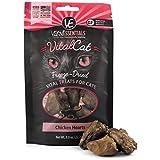 Vital Essentials Freeze Dried Chicken Hearts Raw Cat Treats. (.8 oz).