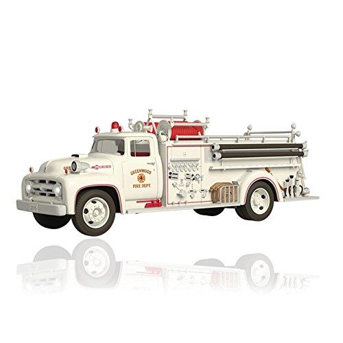 Fire Engine Ornament (Hallmark Keepsake Ornament QX9029 1956 Ford Fire Engine)