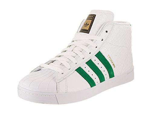 adidas Men's Pro Model Vulc Adv Ftwwht/Green/Ftwwht Skate Shoe 8 Men US eastbay online TVgDez2Qs