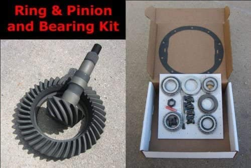 7.625 10-Bolt Ring and Pinion 3.42 Ratio THICK Gears /& Master Bearing//Install Kit CHEVY GM 7.5