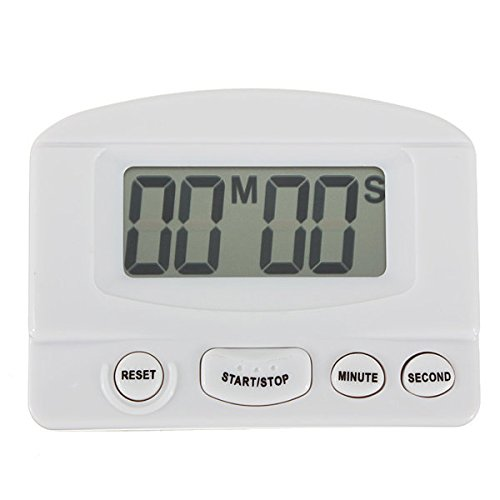 Digital LCD Kitchen Count Down Timer With Alarm ( Black )