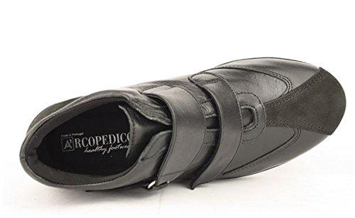 Arcopedico donna Arcopedico Floral donna Nero scarpa Floral Nero Arcopedico Floral scarpa cq7ZHAZz