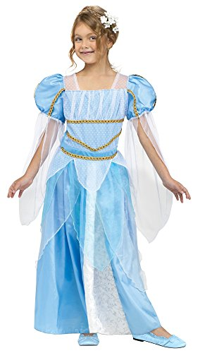 Fun World Costumes Baby Girl's Pretty Princess Costume, Blue, X-Large(4-6) for $<!--$8.31-->
