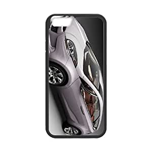 iPhone 6 Plus 5.5 Inch Cell Phone Case Black Hyundai KFN Wallet Cell Phone Case