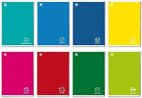 Blasetti Colorface quaderno per scrivere 36 fogli Multicolore A4