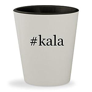#kala - Hashtag White Outer & Black Inner Ceramic 1.5oz Shot Glass