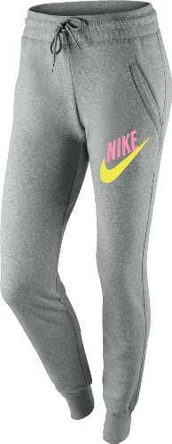 Nike grey Gris Para Pantalones Mujer rqIrw