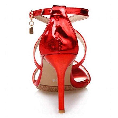 Rojo de Mujer Artfaerie Tobillo Tira xAnRzR