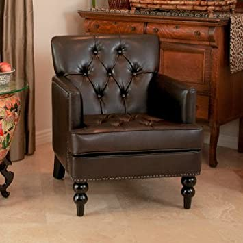 best selling leather club chair brown paris and ottoman lane pair vintage chairs