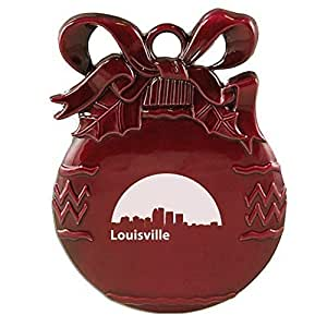 Amazon.com : Louisville, Kentucky-Christmas Tree Ornament ...