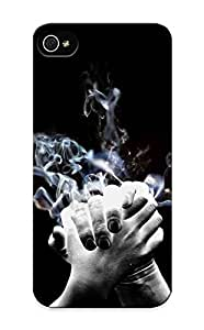 64s4ce603120 Resignmjwj Smoking Hands Durable Iphone 4s Tpu Flexible Soft Case With Design