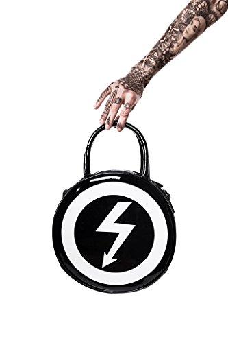Killstar X Marilyn Manson Damen Tasche Rund - Full Of Venom Umhängetasche / Lacktasche