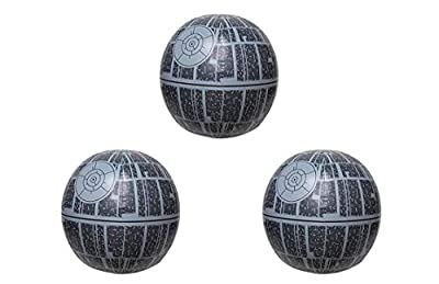SwimWays Star Wars Death Star Light-up Beach Ball