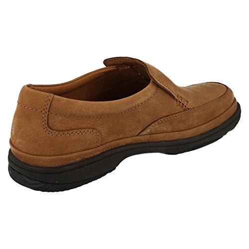 Clarks Swift Step Black Leather Braun