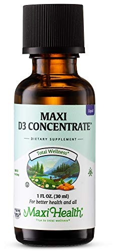 Maxi Health Vitamin D3 Concentrate Liquid -