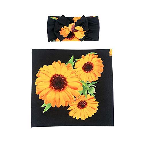Sunflower Swaddle Blanket