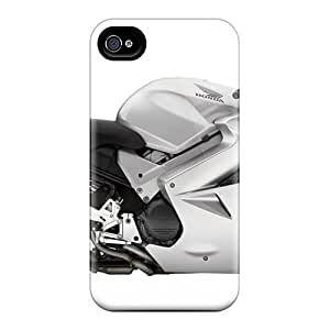 Forever Collectibles 2009 Honda Interceptor Metallic Hard Snap-on For Ipod Touch 4 Phone Case Cover