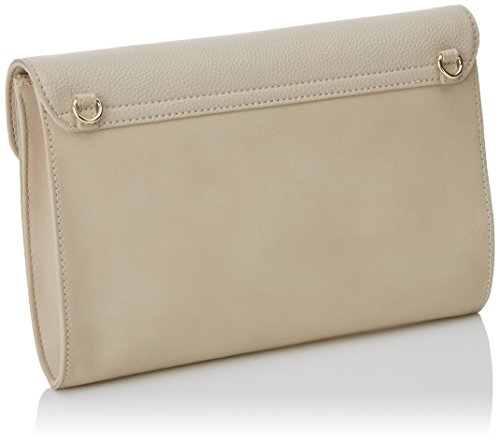Twin Set As7py3, Pochette da Giorno Donna, 4x24x30 cm (W x H x L) Bianco Sporco (Almond)