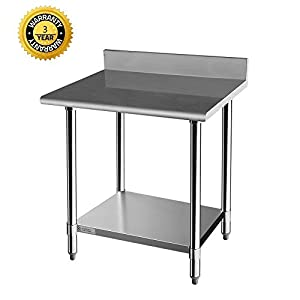 Z GRILLS Stainless Steel Commercial Kitchen Prep & Work Table by legendary Z GRILLS