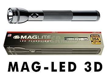 De Maglite Noir Lampe Randonnée Lampes 3d Torche Et Led® eEWD29HYI