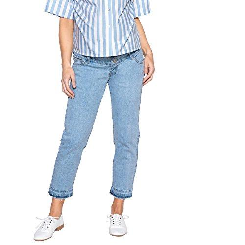 Collections Redoute Blu Jeans Double Donna Straight La Stone Premaman A4vwxq5Ad