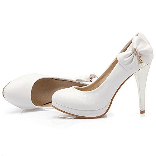 Coolcept Zapatos de Tacon Alto para Mujer White