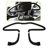 Car Seat Clothes Jacket Suit Holder Metal Coat Hanger Car Accesseries Black